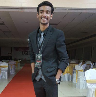 Moneshwar Rao, 3rd Year Medical Student at Kasturba Medical College
