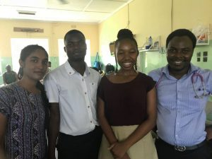 Four African Medical Students