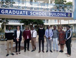 Meeting the GEMx students of Kenyatta University