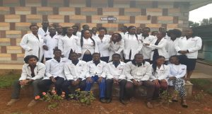 Fellow students rotating in obstetrics and Gynecology at Kiambu Hospital