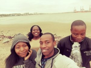 Students selfie in Durban