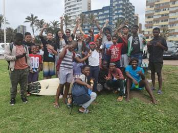 The Young Christian Surfers' Group